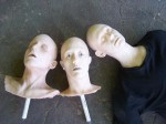 Victim Stunt Dummy with 3 Assorted Interchangable Heads
