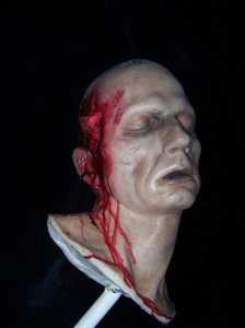 Gunshot Alan Head
