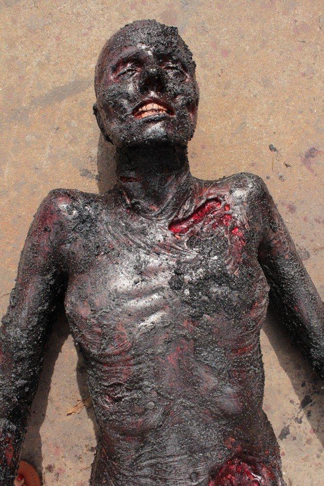 Burnt Luttra Cadaver Prop