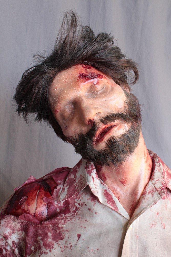 Earthquake Alan Dummy with Beard