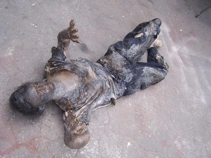 Burnt Jessica Stunt Dummy